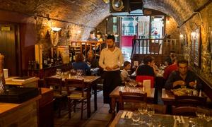 Al Vesuvio: Starter and Main Italian Course for Two or Four at Al Vesuvio, Temple Bar (Up to 40% Off)