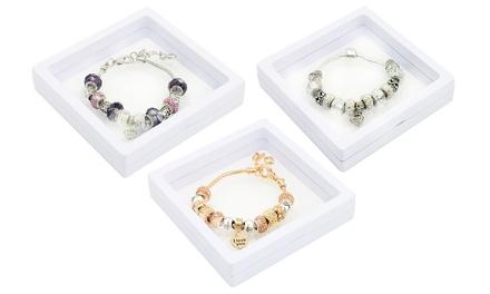 Love Charm Bracelet With Crystals from Swarovski