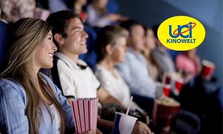 5 Kinogutscheine für alle 2D-Filme inklusive Überlänge und Loge in der UCI KINOWELT (52% sparen*)