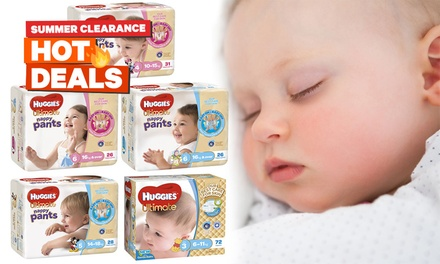 From $19 for a Huggies Ultimate Nappy Pants Pack for Girls or Boys in a Choice of Size (Don't Pay up to $56.68)