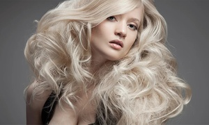 Silk Blonde: Hair Cut, Treatment & Blow-Dry ($35) + Full Head of Colour ($69) or Foils ($89) at Silk Blonde (Up to $290 Value)