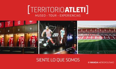 Entrada al Museo del Atlético de Madrid y Tour Wanda Metropolitano para un adulto o un niño
