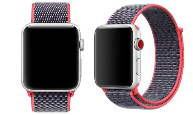 38 or 42mm Sport Loop Breathable Nylon Weave Band for Apple Watch: One ($15.95) or Two ($25.95)
