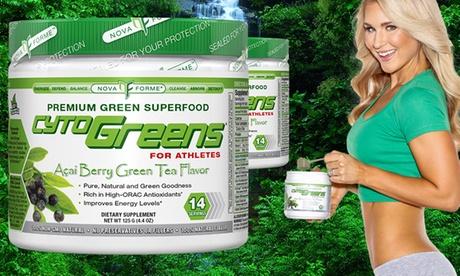 Buy 1 Get 1 Free: Novaforme CytoGreens Premium Greens Superfood (28 Servings) 6221e49c-e3e3-11e6-9685-00259060b5da