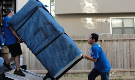 Two or Three Hours of Moving with Two Movers and One Truck from A Rating Moving (Up to 72% Off)