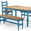 Jay Dining Set 2.0. Multiple Colors Available. (5-Piece)