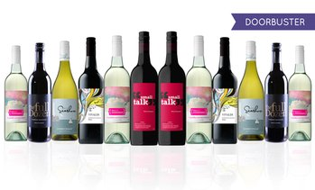 12-Bottle Super Value Mixed Wines