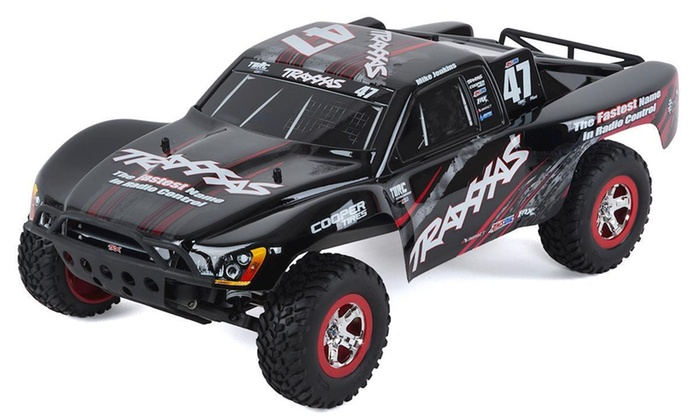 Multicolored Black Or Pink Traxxas Slash 2WD RC Car