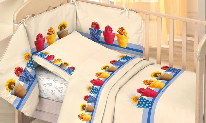 Biancheria letto anne geddes groupon goods - Biancheria da letto bambini ...