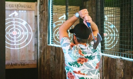 75-Minute Axe-Throwing Session for One, Two, or Four at Golden Axe (Up to 38% Off)