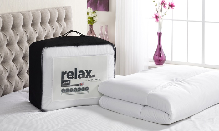 Relax Non-Allergenic Duvet in 10.5 or 13.5 Tog from £9
