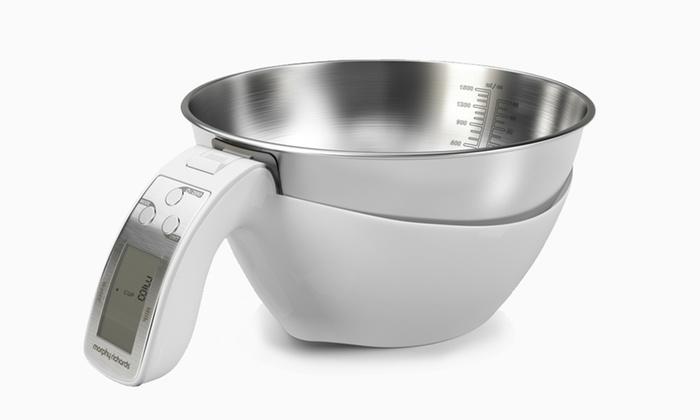 Morphy Richards  In  Digital Kitchen Jug Scales Black