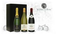 Sélection de 3 bouteilles ''Coffret Réveillon'' à commander sur Le Repaire de Bacchus à 29,90 € (40% de réduction)