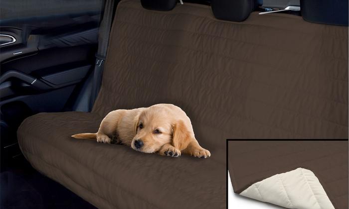 Groupon Goods Global GmbH: Housse de siège arrière de voiture à double face