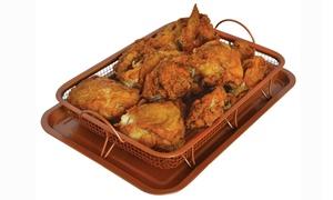 Copper Crisper Tray Set (2-Piece)
