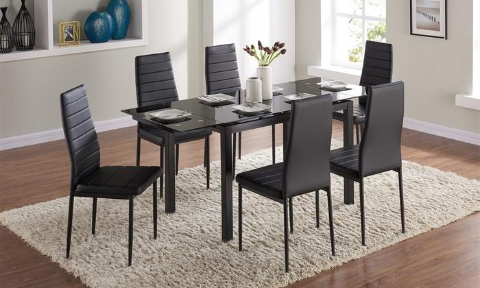 Mesa de comedor con 6 sillas | Groupon Goods