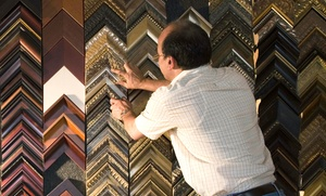 Westside Frame Shop: Custom Framing from Westside Frame Shop (61% Off). Two Options Available.