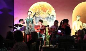 Ahijuna: Desde $349 por cena show regional para dos o cuatro en Ahijuna