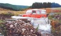 Off-Road Driving Package with Five Activities for One, Two or Four at Perthshire Off Road