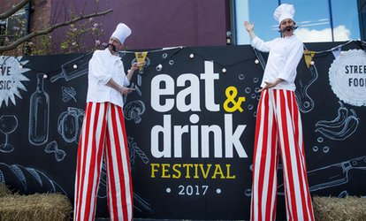 image for Christmas Eat and Drink Festival: Two Tickets, 22–26 November at London Olympia (Up to 53% Off)
