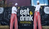 Eat And Drink Festival - Olympia: Christmas Eat and Drink Festival: Two Tickets, 22–26 November at London Olympia (Up to 53% Off)