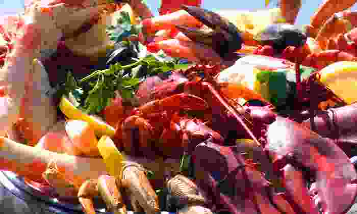 The Crazy Lobster - Central Business District: $25 for $50 Worth of Seafood and Cajun Cuisine at The Crazy Lobster