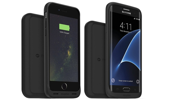 official photos 20da0 ebab8 Up To 32% Off on mophie Qi Wireless Charging Pad | Groupon Goods