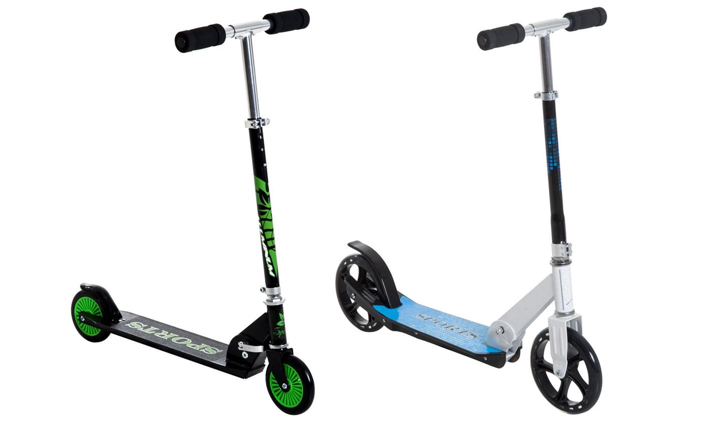 HomCom Aluminium Kids' Kick Scooter or Two Wheel Kids' Stunt Kick Scooter