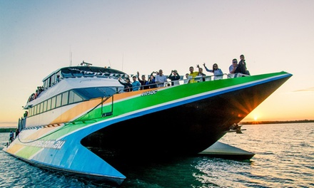Island Sunday Cruise + Drink: 1 Child $29, or 1 $55 or 4 Adults $218 with Gold Cost Adventures Up to $256 Value