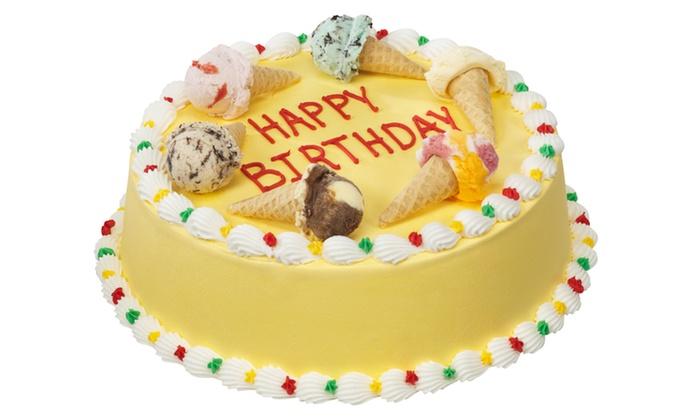 Groupon Baskin Robbins Ice Cream Cake