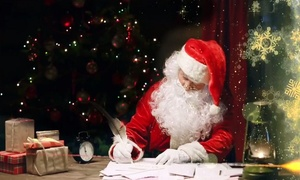 Santa Claus Video: Personalised Video from Santa for One or Two Children from Santa Claus Video (Up to 76% Off)