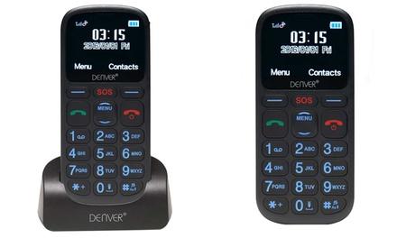 Teléfono móvil para personas mayores