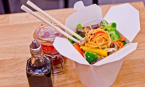 Wok On Fire: Asian Street Food Meal with Drink for One, Two or Four at Wok On Fire, Soho (Up to 31% Off)