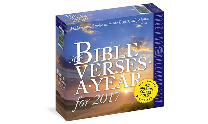 Up To 33 Off On 2017 Page A Day Calendars Groupon Goods