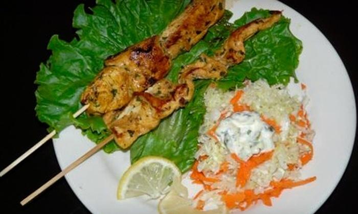 Marrakech Cafe - Old Westport: $6 for $12 Worth of Moroccan Lunch Fare at Marrakech Cafe (or $10 for $20 Worth of Dinner)