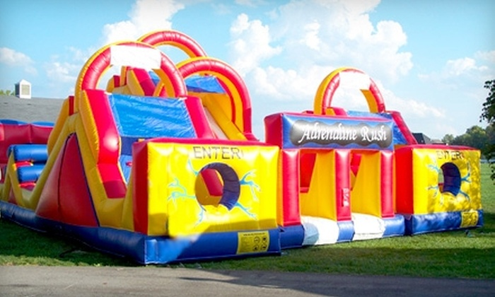 Best Fun Inc. - Greenwood: $50 for $100 Toward Bounce House and Inflatable Rental from Best Fun Inc.