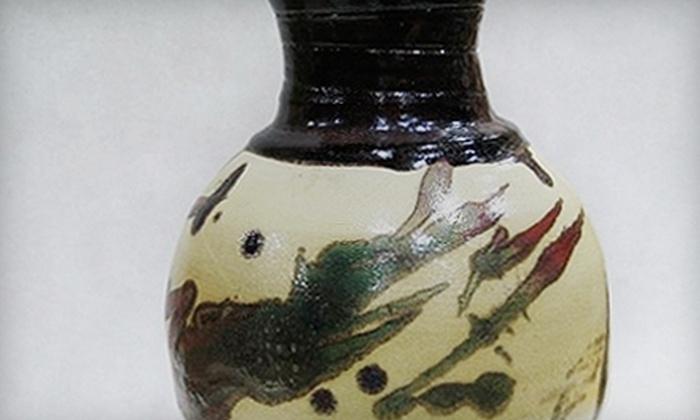 Create in Clay School of Ceramics - Oak Center: $45 for Three Pottery Classes at Create in Clay School of Ceramics in Oakland ($90 Value)