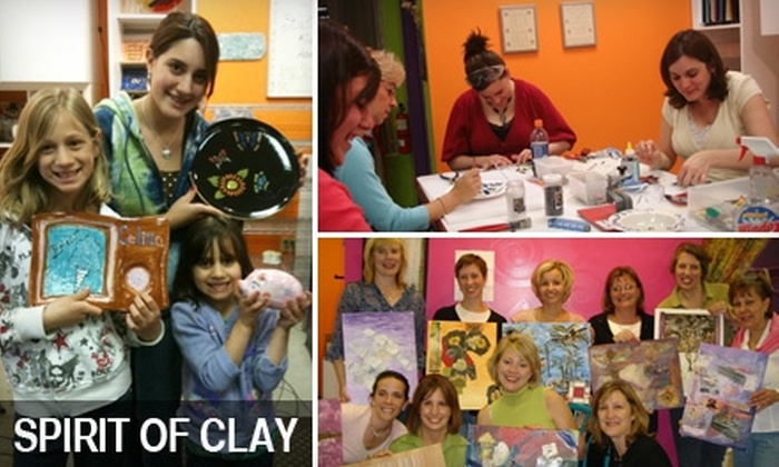 Spirit of Clay - Mayfield: $10 for $20 Worth of Paint-Your-Own Pottery and More at Spirit of Clay in Mayfield Village