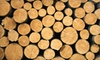 Woods Unlimited: Half or Full Rick of Assorted Firewood from Woods Unlimited (Half Off)