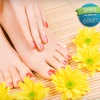 54% Off Shellac Manicure & Regular Pedicure