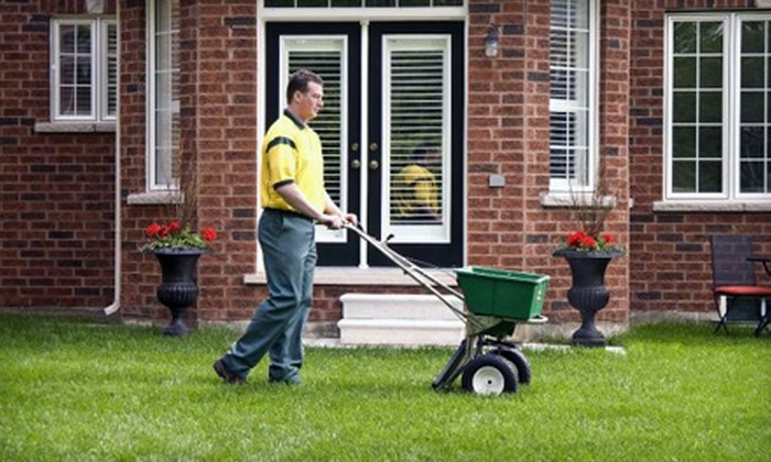 Weed Man - Milwaukee: $25 for Full Lawn-Fertilizing Treatment from Weed Man (Up to $64 Value)