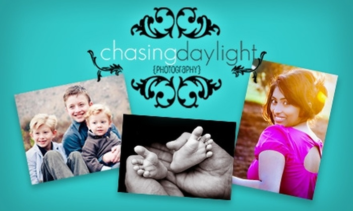 Chasing Daylight Photography - San Diego: $49 for a One-Hour Photography Session and an Image CD from Chasing Daylight Photography ($125 Value)