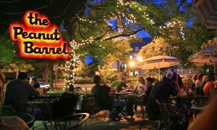 The Peanut Barrel  - East Lansing: $5 for $10 Worth of Bar Fare and Drinks at The Peanut Barrel