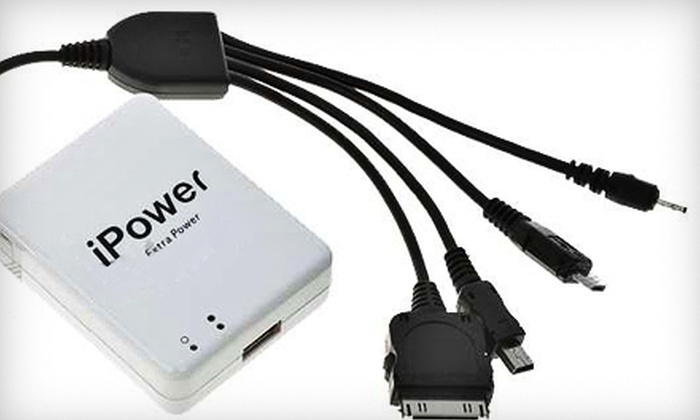 Gadgetpopshop.com: $29 for iPower Battery-Pack Cell-Phone Charger from gadgetpopshop.com ($69 Value)