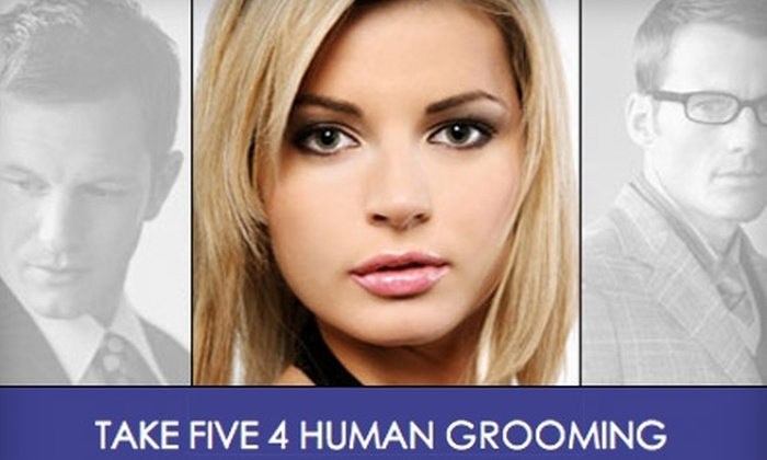 Take Five 4 Human Grooming - Multiple Locations: $15 for a Women's or Men's Haircut at Take Five 4 Human Grooming (Up to $35 Value)