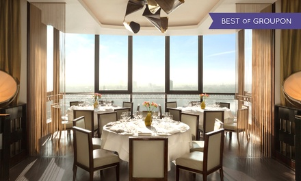 Three-Course Lunch or Five-Course Dinner for One or Two at Michelin-Starred Galvin at Windows
