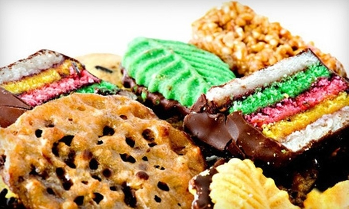 Continental Cookies - West Warwick: $15 for a 2-Pound Continental Classic Cookie Tin at Continental Cookies in West Warwick ($30 Value)