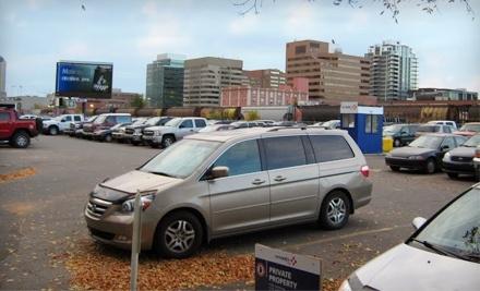 Vinci Park: Weekly Parking Pass - Vinci Park in Calgary