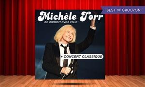 Nuits d'artistes: 1 place pour le concert de Michèle Torr les 07 ou 08 avril 2017 à 19h30, à 29 € à Abbeville ou Albert