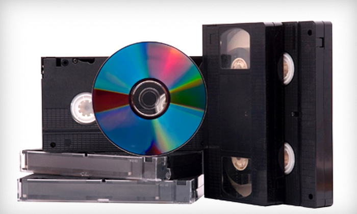 Geeko Systems - Downtown: $19 for Three VHS-to-DVD Conversions at Geeko Systems ($50.85 Value)